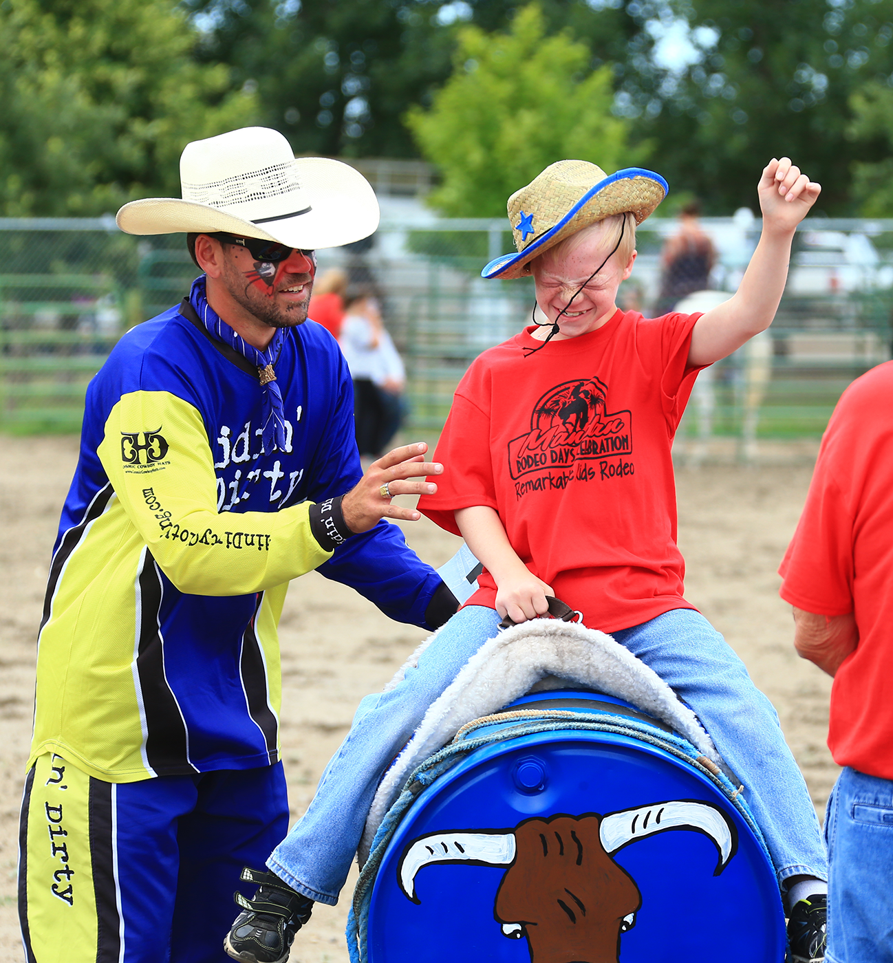 Remarkable Kids Rodeo | MandanRodeo
